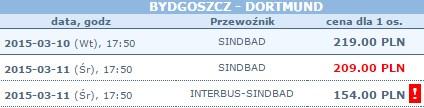 tanie autokary do niemiec z polski