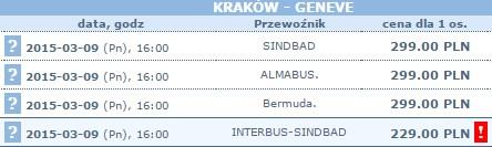 przewóz osób interbus do szwajcarii